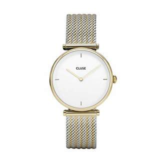 Cluse Womens Analogue Classic Quartz Watch with Stainless Steel Strap CL61002