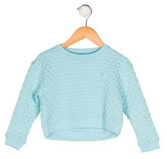 No Added Sugar Girls' Textured Long Sleeve Sweatshirt w/ Tags