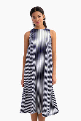 MDS Stripes Kelly A Line Dress