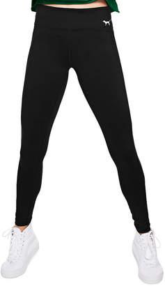 PINK Cotton Flat Waist Yoga Legging