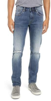 A V Denim Vigoss Mick Slim Fit Ripped Jeans