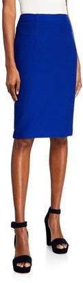 Nanette Lepore Textured Skinny Pencil Skirt