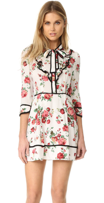 re:named Floral Neck Tie Dress $74 thestylecure.com