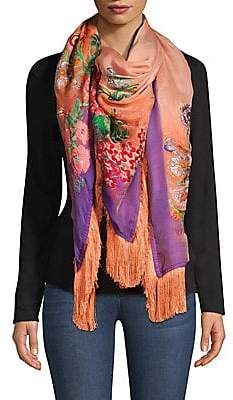 Etro Women's Fringed Fille Coupe Scarf