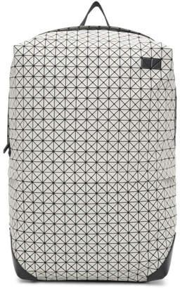 Bao Bao Issey Miyake White Large Liner Backpack