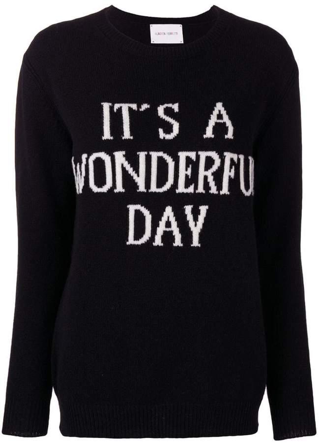 It's A Wonderful Day jumper