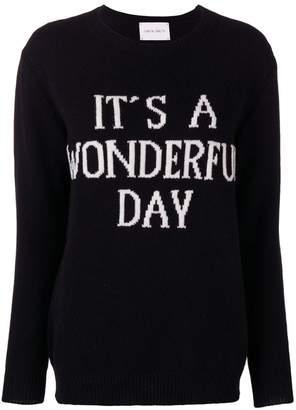 Alberta Ferretti It's A Wonderful Day jumper