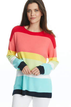 525 America Modern Stripe Sweater