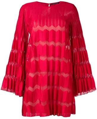 Valenti Antonino pleated shift dress
