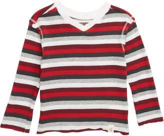 Burt's Bees Baby Stripe V-Neck T-Shirt
