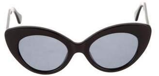 Cat Eye Roberi & Fraud Oval Cat-Eye Sunglasses