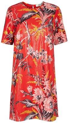 Diane von Furstenberg Red Floral