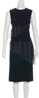 Christopher Kane Sleeveless Shift Dress w/ Tags Black Sleeveless Shift Dress w/ Tags