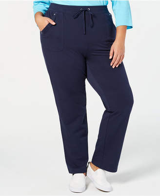 Karen Scott Plus Size Pull-On Pants