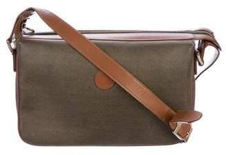 Fendi Leather-Trimmed Vintage Crossbody Bag