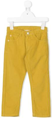 Knot corduroy trousers