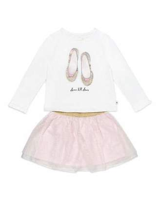 Kate Spade Dance Till Dawn Top W/ Glitter Skirt, Size 2-6x