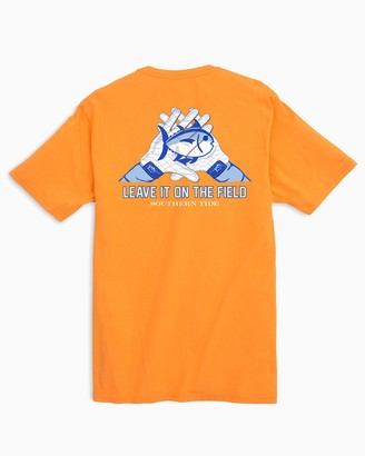 Southern Tide Gameday Skipjack Gloves T-shirt - University of Tennessee