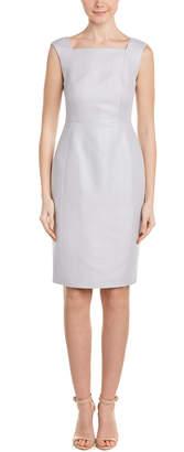 LK Bennett L.K.Bennett Linen-Blend Sheath Dress