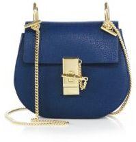 Chloe Drew Mini Leather Saddle Crossbody Bag $1,650 thestylecure.com