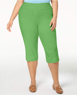 Alfred Dunner Turks & Caicos Plus Size Pull-On Capri Pants