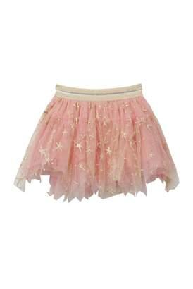 Baby Sara Gold-tone Glitter Star Fish Skirt (Baby, Toddler, & Little Girls)