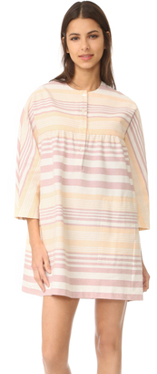 Mara Hoffman Button Front Mini Dress $325 thestylecure.com