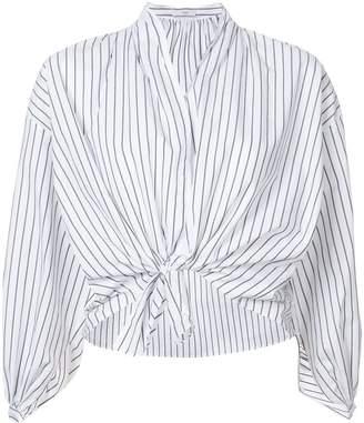 Tome striped V-neck shirt