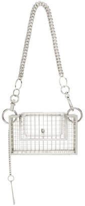 Martine Ali Silver Python Bag