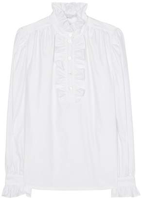Stella McCartney Cotton ruffle shirt