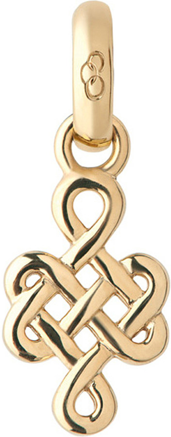 Links Of London Links of London Infinity knot 18ct yellow-gold charm