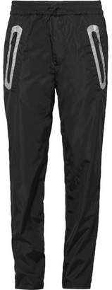 Moncler C - Tapered Reflective-Trimmed Shell Trousers