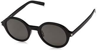 Saint Laurent Unisex's SL 161 Slim 001 Sunglasses