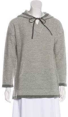 Jenni Kayne Striped Hooded Sweater