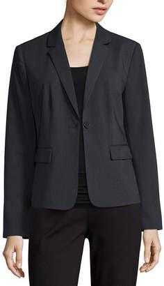 Liz Claiborne Long-Sleeve Suit Blazer - Petite