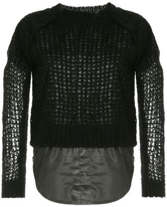 Sonia Rykiel cropped sweater