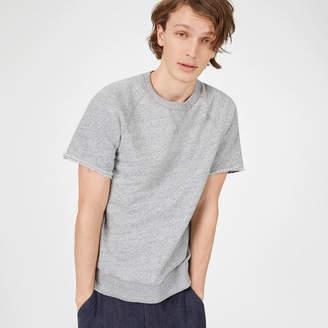Club Monaco Short-Sleeve Sweatshirt