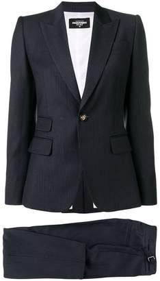 DSQUARED2 pinstriped suit