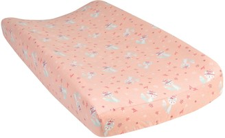 Trend Lab Fox & Flowers Deluxe Flannel Changing Pad Cover
