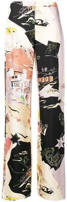 Emilio Pucci graphic pajama trousers