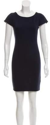 Alice + Olivia Mini Bodycon Short Sleeve Dress