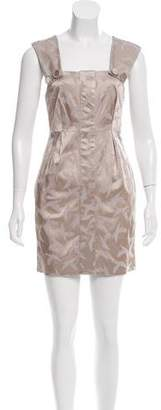 Walter Silk Satin Sheath Dress