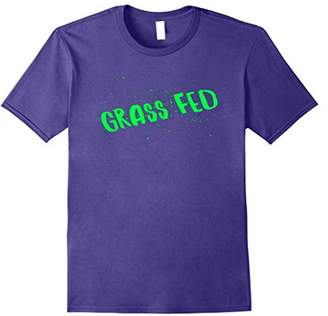 Grass Fed Body Building Vegan Veggie T shirt