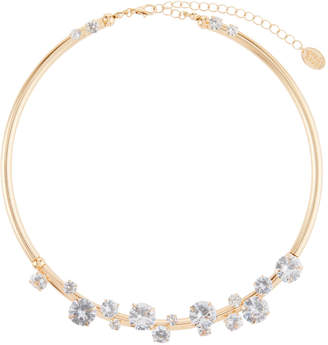 Stella & Ruby Crystal Studded Collar Necklace