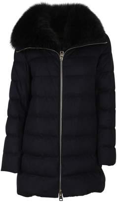 Herno Fur Trimmed Down Jacket