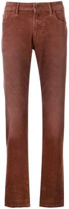 Emporio Armani straight-legf trousers