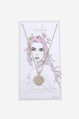 Topshop Womens **Aphrodite Coin Necklace
