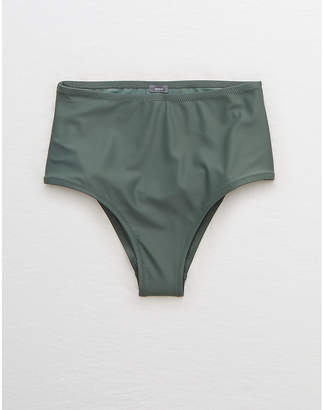 aerie High Waisted Cheeky Bikini Bottom