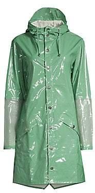 Rains Women's LTD Mirage Hooded Mackintosh