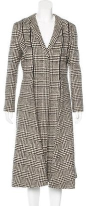 Thom Browne Wool Houndstooth Coat $630 thestylecure.com